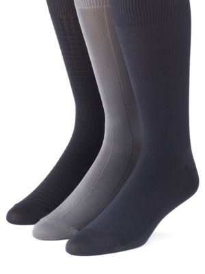 Microfiber Socks 3-Pack by Calvin Klein
