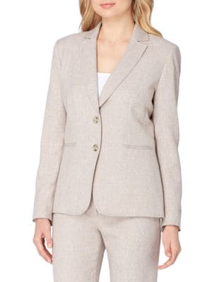 Lynn Solid Classic-Fit Suit by Tahari Arthur S. Levine