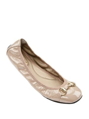 Legend Patent Leather Ballet Flats by Me Too