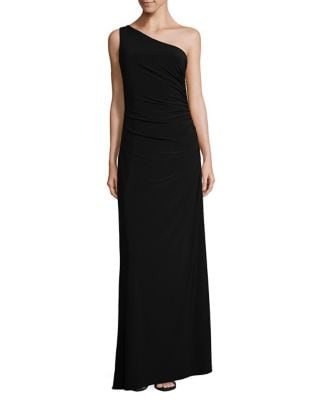 One-Shoulder Matte Jersey Dress by Laundry by Shelli Segal