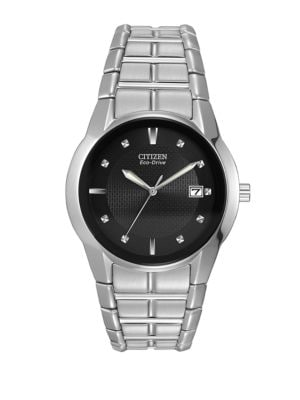 Mens Eco-Drive Stainless...