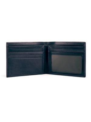 Old Leather Black Executive Billfold by Bosca