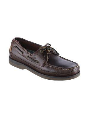 Mako Leather Boat Shoes - Smart Value 500015897762