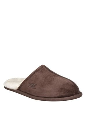 Scuff Suede & Shearling Slippers by UGG