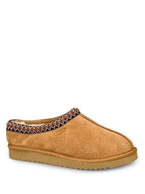 Tasman Shearling-Lined Suede Slippers by UGG