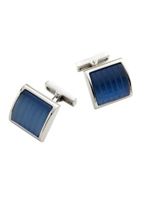 Square Glass Cuff Links by Kenneth Cole New York