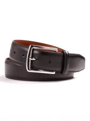 Leather Dress Belt @...
