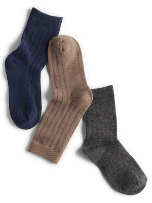 Three Pack Dress Socks