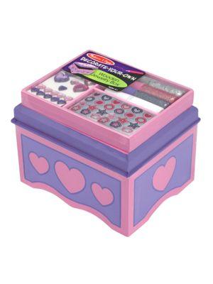 DecorateYourOwn Wooden Jewelry Box