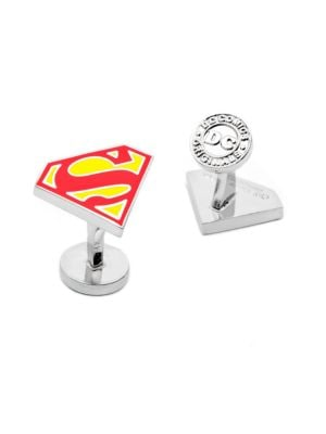 DC Comics Superman Shield Enamel Cuff Links 500017513532