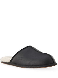 UGG - Scuff Leather Slippers