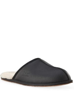 Scuff Leather Slippers by UGG