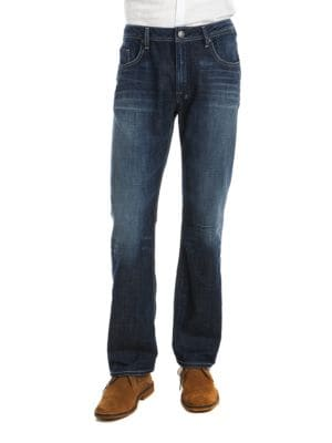 Driven Straight-Leg Jeans by BUFFALO David Bitton