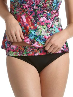 True Love Floral Hipster Swim Bottom by Kenneth Cole New York