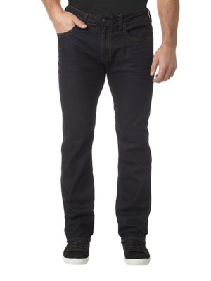 Six-X Basic Slim Straight Jeans by BUFFALO David Bitton