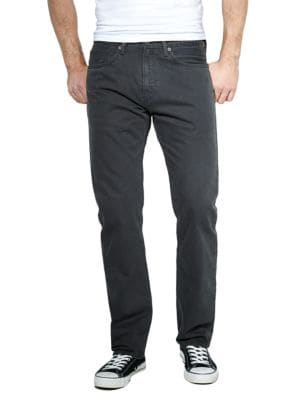 505 Regular Fit Graphite Twill Jeans by Levi's