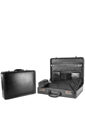 Lock and Roll Leather Attache Case by Kenneth Cole REACTION