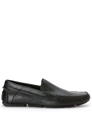 Miguel Tumbled Leather Driver Moccasins by Calvin Klein