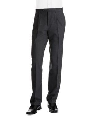 Classic Fit Pleat Front Dress Pants by Lauren Ralph Lauren