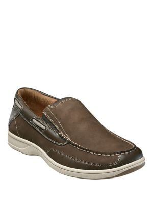 Lakeside Leather Boat Shoes 500018642603