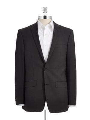 Skinny Two-Button Suit Jacket by DKNY