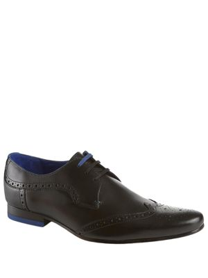 Hann Leather Brogue Oxfords by Ted Baker London