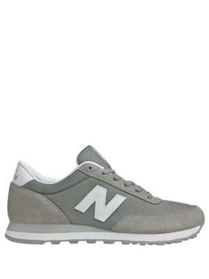 Suede and Ballistic Mesh Sneakers by New Balance