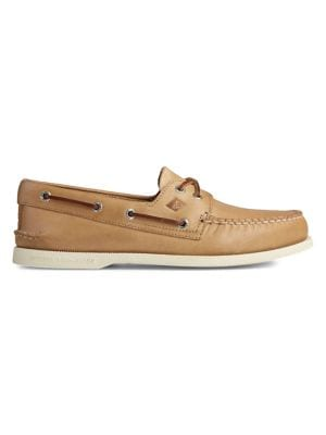 AO Leather Boat Shoes 500019056936