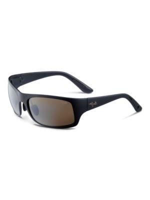Haleakala Polarized Rectangular Sunglasses by Maui Jim