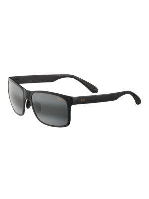 Red Sands Polarized Rectangular Sunglasses by Maui Jim