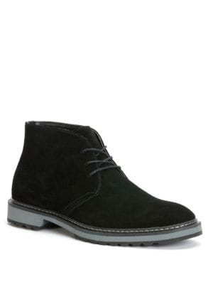 Agdin Leather Chukka Boots by Calvin Klein