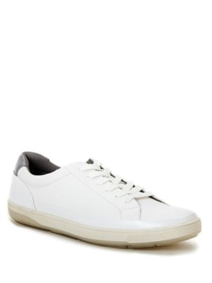Ward Leather Lace-Up Sneakers by Calvin Klein