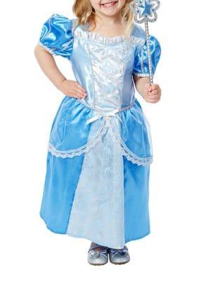 Royal Princess Dress Wand and Crown Costume Set