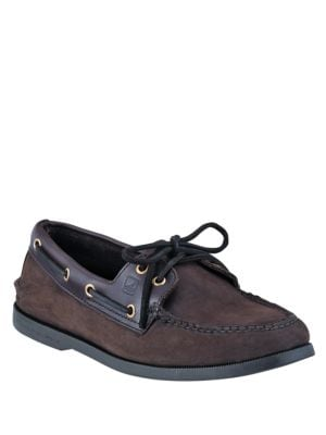 A O Two-Eye Nucuck Boat Shoes 500019480557