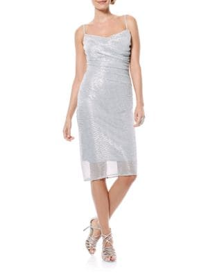 Shirred Sheath Dress by Laundry by Shelli Segal