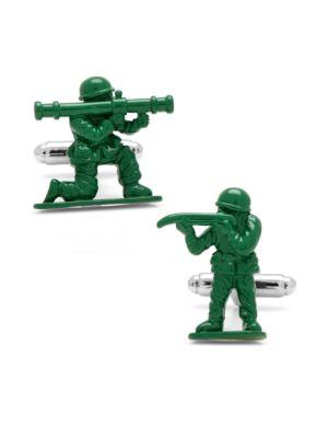 Green Army Men Cufflinks 500019680776