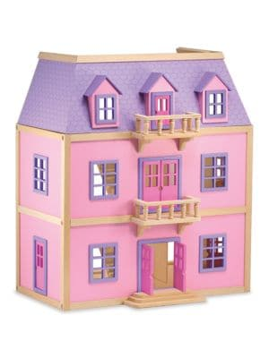 MultiLevel Wooden Dollhouse