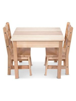 Wooden Table and Chairs Set 500019721893