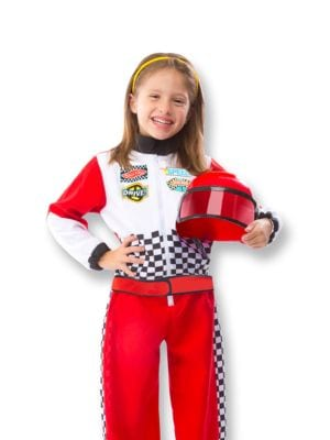 Race Car Driver Costume Set