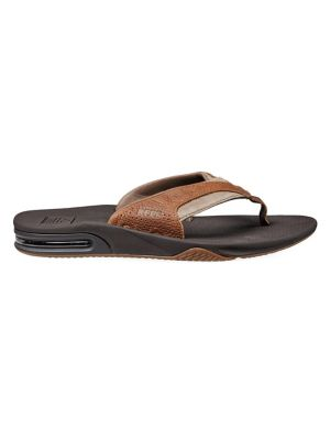 Fanning Leather Thong Sandals by Reef