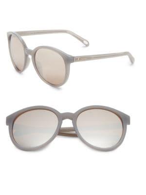 56mm Mirrored Sunglasses 500019728740