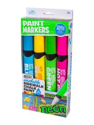 Outdoor Sidewalk Chalk Paint Markers