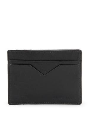 Leather Card Case Wallet by Perry Ellis