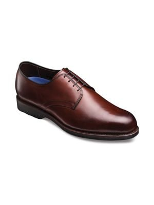 Lax Burnished Leather Oxfords 500019878776