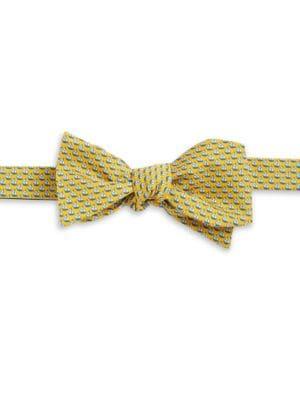 Sailboat Silk Bow Tie...