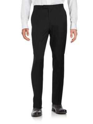 Wool-Blend Straight-Leg Pants by Hugo