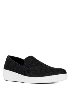 Superskate Knit Slip-On Mesh Sneakers by FitFlop