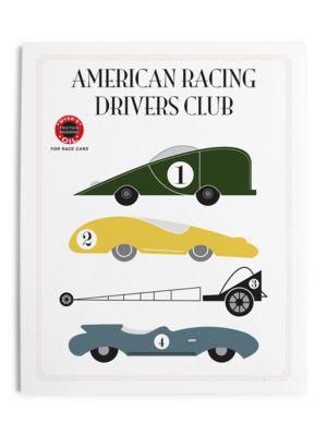 Retro Race Car Print