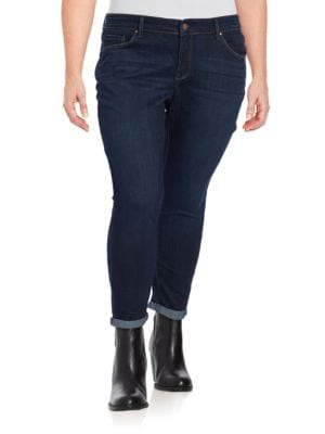 Plus Forever Rolled Skinny Jeans 500030287817
