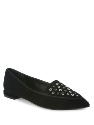 Esther Suede Slip-On Loafers by Tahari
